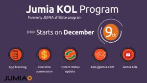 jumia kol Jumia Affiliate Program